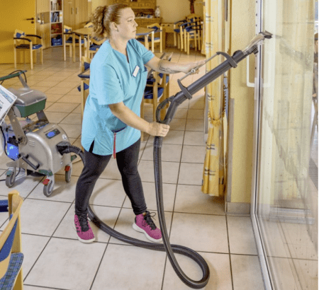 retirement home steam cleaning