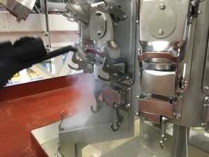 food processing steam clean